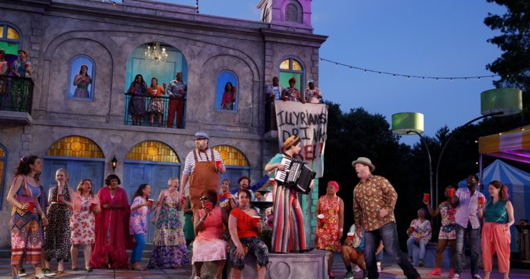 Not Your Mother's Twelfth Night Conquers Central Park
