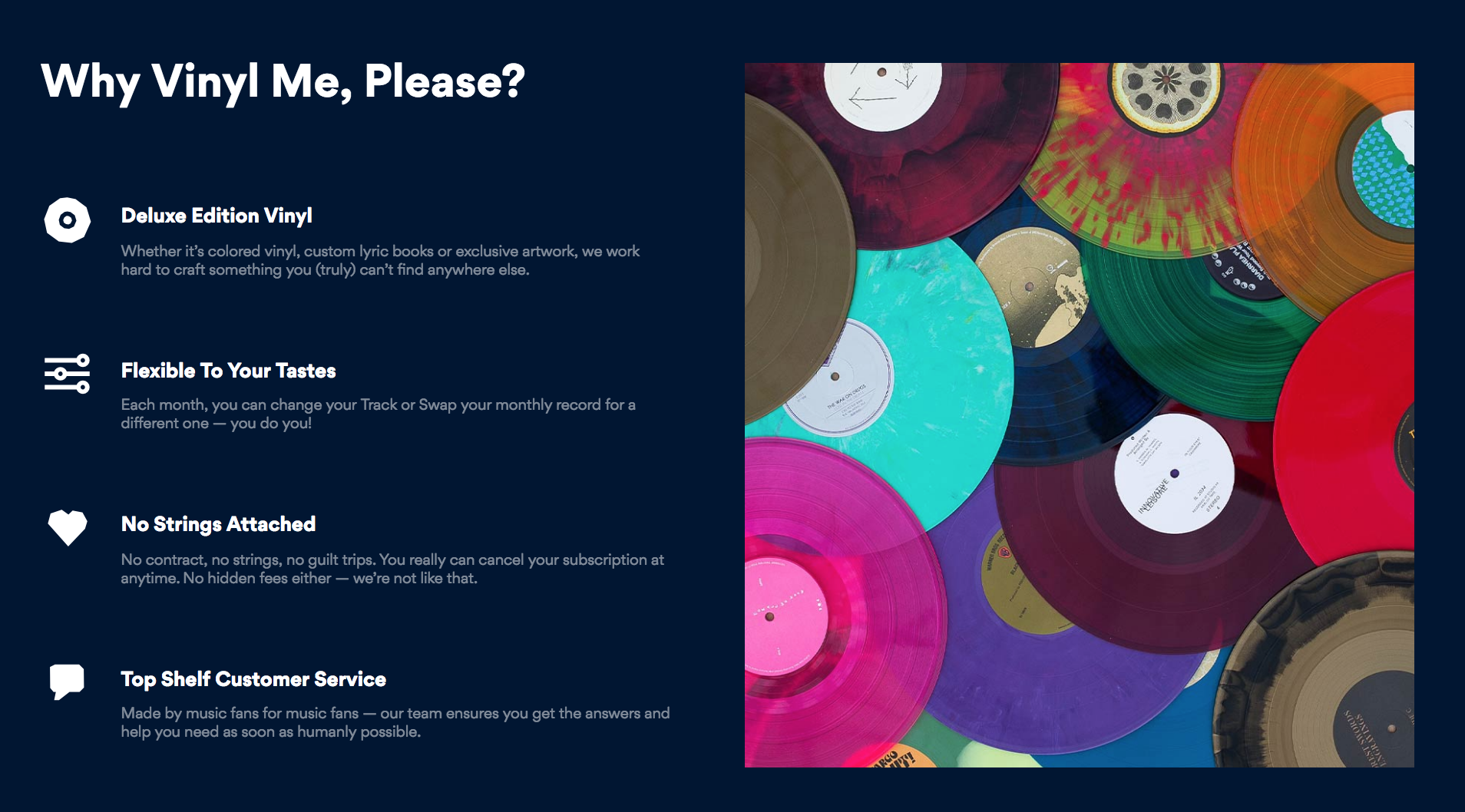 vinyl me, please subscription